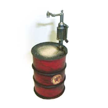 Dollhouse Oil Drum with Pump - Product Image