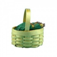Dollhouse Corn in Basket - Product Image