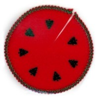 § Sale .60¢ Off - Tree Skirt (Red Christmas Tree) - Product Image