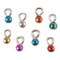 (*) Dollhouse 8 pc Tiny Jewel Tone Ornaments - Product Image