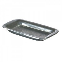 (*) Dollhouse Miniature Empty Butcher Tray - Product Image