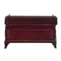 Dollhouse Domed Mahogany Blanket Chest - Product Image