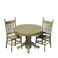 Round Table w/2 Chairs F-270 (Kit) - Product Image