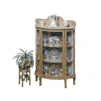 Dollhouse China Cabinet & Plant Stand F-170 (Kit) - Product Image