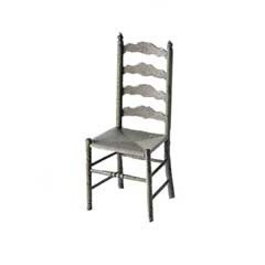 Ladder Back Chair M-520 (Kit) - Product Image