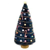 Dollhouse 6 inch Decorated Tree or Kit - Product Image