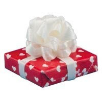 Dollhouse Wrapped Valentine Gift - Product Image