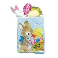 Dollhouse Easter Gift Bag - Product Image