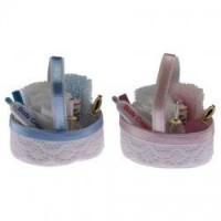 § Sale .60¢ Off - Dollhouse Baby Bath Basket - Product Image