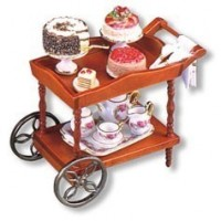Serving Cart Displays by Reutter Porcelain - Product Image