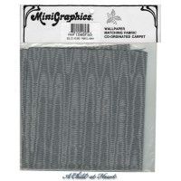 § Disc $4 Off - Moiré Fabric Gray - Product Image