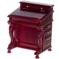 Dollhouse Mahogany Davenport Desk - Product Image