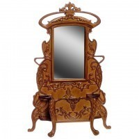 SALE $20 Off - Dollhouse Gaudie Art Noveu Hall Stand - Product Image