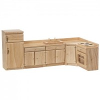 Dollhouse 5 pc Kitchen Cabinet Set(s) - Product Image