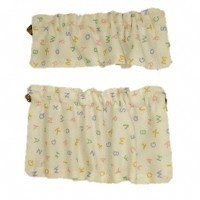 § Sale $3 Off - Dollhouse Alphabet Café Curtains - Product Image