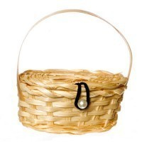 (§) Sale $1 Off - Large Picnic Basket - Product Image