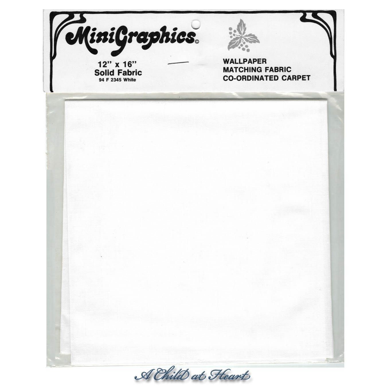 § Disc $5 Off - Solid White Fabric - Product Image