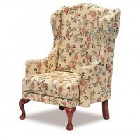 § Disc $5 Off - Dollhouse Wing Chair (Kit) - Product Image