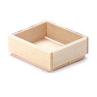 4 - Slat Wooden Crate - Product Image