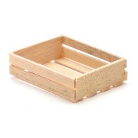 § Sale .40¢ Off - 8 Slat Wooden Crate - Product Image