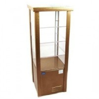 Dollhouse Commercial Diner Display Case - Product Image