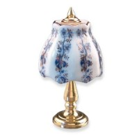 Dollhouse Blue Onion Table Lamp - Product Image