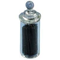 Dollhouse Jar of Black Licorice - Product Image