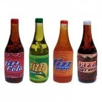 § Disc .60¢ Off - Dollhouse 1 liter Soda Bottle - Product Image