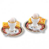 Dollhouse Breakfast Poached Eggs - Product Image