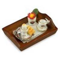 Dollhouse Morning Breakfast Tray - Product Image