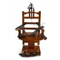 "Old Sparky Dollhouse ""Electric Chair"" - Product Image"