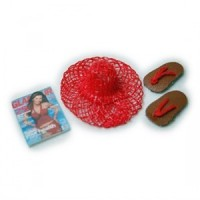 (*) Dollhouse Beach Hat Set - Product Image