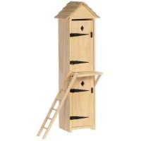 Dollhouse 2-Story Outhouse - Product Image