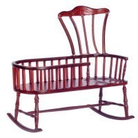 Dollhouse Nanny Rocker(Choice of Finishes) - Product Image