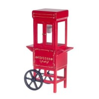 Old-Fashioned Popcorn Machine - Product Image