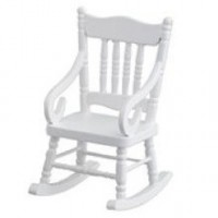 Dollhouse White RockerBy Town Square - Product Image