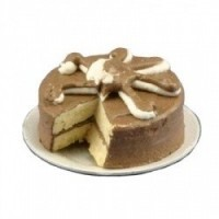 Double Chocolate Fudge Cake Sliced - Product Image