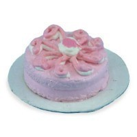 Dollhouse Cherry or Chocolate Fudge Cake - Product Image