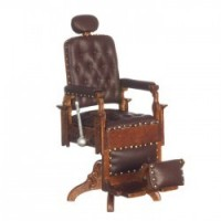 Dollhouse Victorian Barber Chair - Product Image