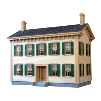 Lincoln's Springfield Home Dollhouse (Kit) - Product Image
