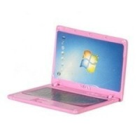(*) Dollhouse Metal Pink or Silver Laptops - Product Image
