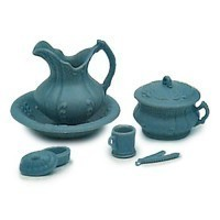 Dollhouse Victorian Chamber Kit - Blue - Product Image