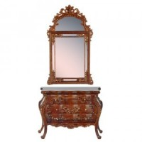 Dollhouse Garfield Console Chest or Mirror - Product Image