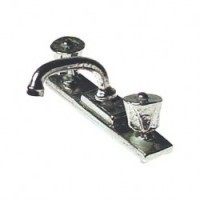 Dollhouse Kitchen Faucet Set - Product Image
