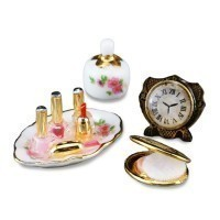 Dollhouse Perfume and Compact Set by Reutter - Product Image