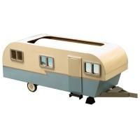 Vintage Travel Trailer Dollhouse (Kit) - Product Image