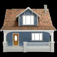 Beachside Bungalow Dollhouse (Kit) - Product Image