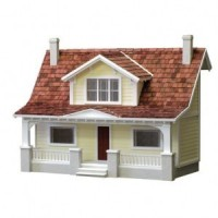 1/2 in. Scale Classic Bungalow Dollhouse (Kit) - Product Image
