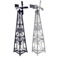 Dollhouse Miniature Steel Windmill - Product Image