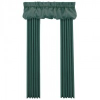 Dollhouse Single Drape with Balloon Valance - Product Image